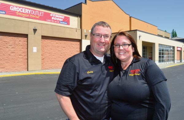 Larry and Elizabeth Brown have roots in Ferndale and both worked at the Bellingham Grocery Outlet before going their own in 2002. (Mark Reimers/Ferndale Record)